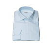Morigi Extrafine Cotton Blue Dress Shirt ~ Hand-made in Napoli, Italy