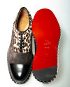 Christian Louboutin Fancy Leather Shoes ~ Hand-made in Italy