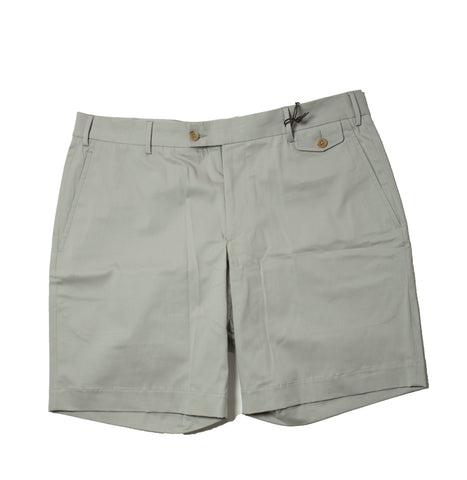 BOGLIOLI Gray Cotton Slim Fit Shorts ~ Made in Italy