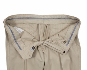 CANALI 1934 Khaky Cotton Chino Pants ~ Made in Italy