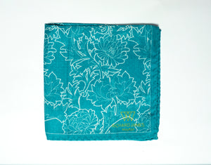 Richard James Mayfair Wool & Silk Pocket Square ~ Made in Italy