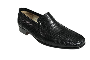 Stefano Ricci Genuine Crocodile Loafer Shoes 12 (EU 11.5) Hand-made in Italy