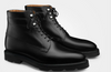 John Lobb Alder Black Leather Boot Shoes 7.5/8.5 (Last 8695B) Made in England
