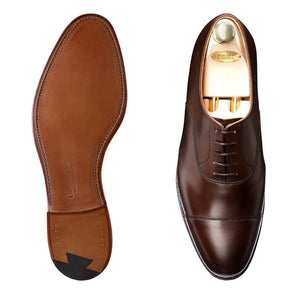 Crockett & Jones Connaught Brown Cap-Toe Shoes ~ Made in England