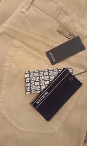Incotex Slim-Fit Five-Pocket Jean-style Pants ~ Khaki Color