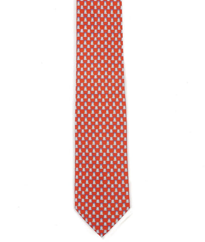 Salvatore Ferragamo Printed Silk Tie ~ Made in Italy
