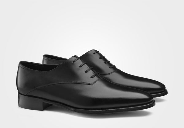 John Lobb Becketts Black Oxford Goodyear Welted Shoes 9/10 (Last 8000) Made in England