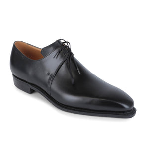 Corthay Arca Pullman Black Calf Derby Shoes 11.5 Hand-made in France