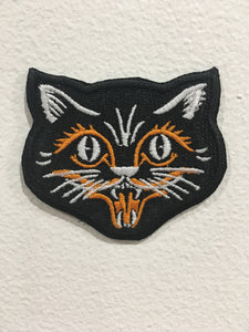 Scaredy Cat Black Cat Patch