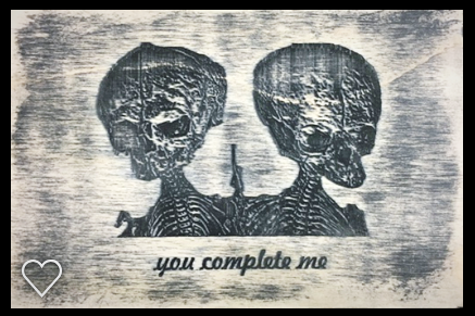 'You Complete Me' Wall plaque