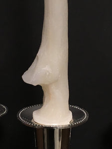 Hand Poured Human Ulna Bone Candle