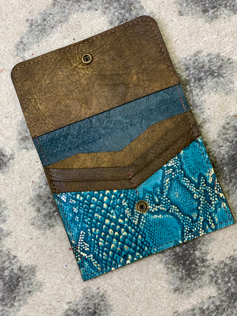 Deep Turquoise Python Flora by Keep it gypsy