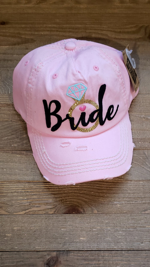 Blush Bride Hat