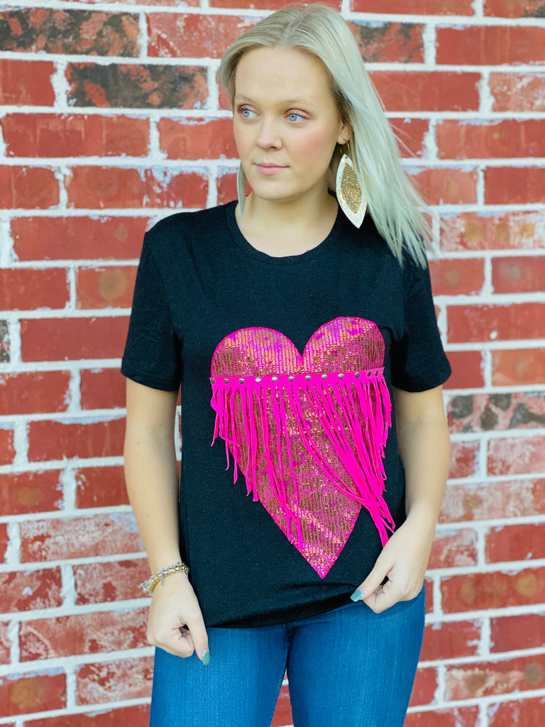 Mad Love Tee by Crazy Train