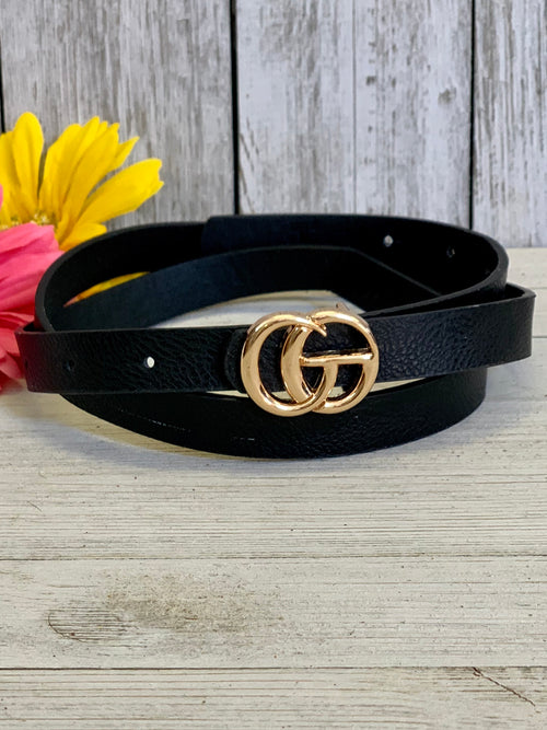 Black Inspired Belt