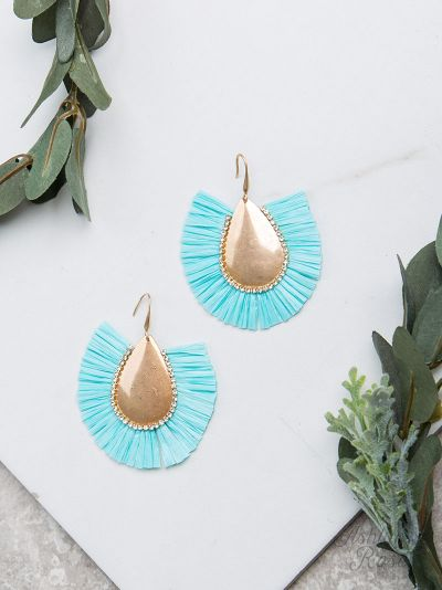 Light Blue Stop & Stare Earrings