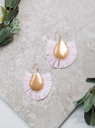 Light Pink Stop & Stare Earrings