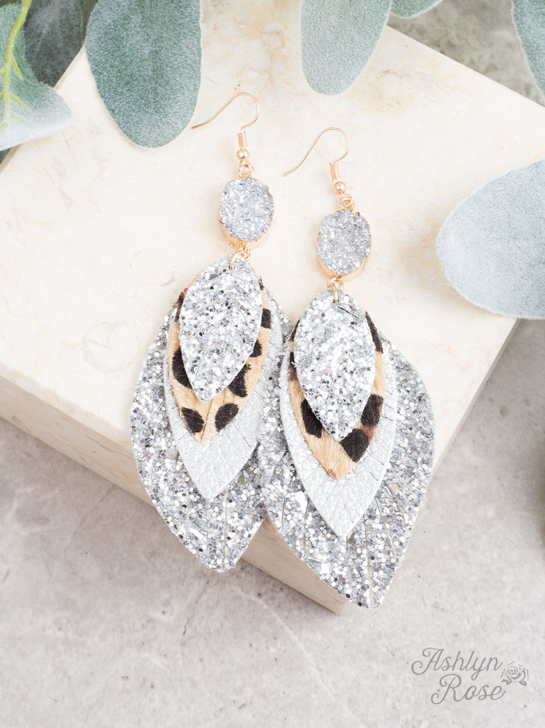 Perfect Trio Earring~ SILVER