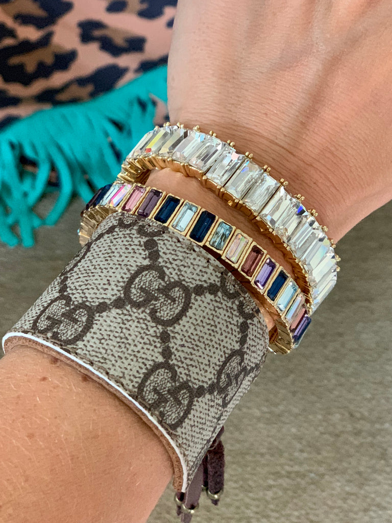 Sophistication in bling bracelets
