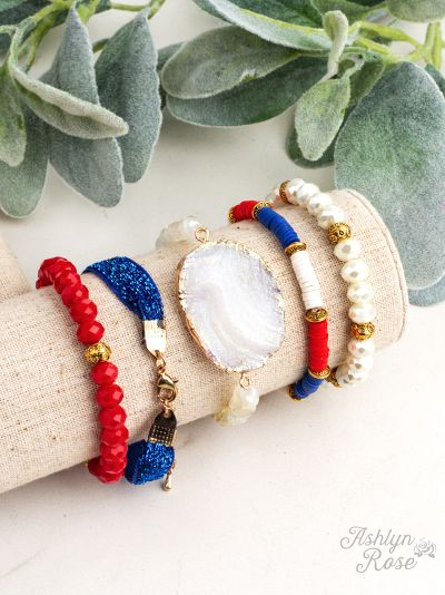 So Put Together USA Bracelet Set