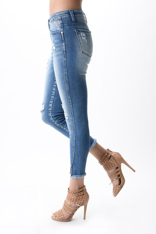 Gemma Girl Light Low Rise Skinnies by KanCan