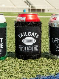 Black sequin Tail Gate cooler