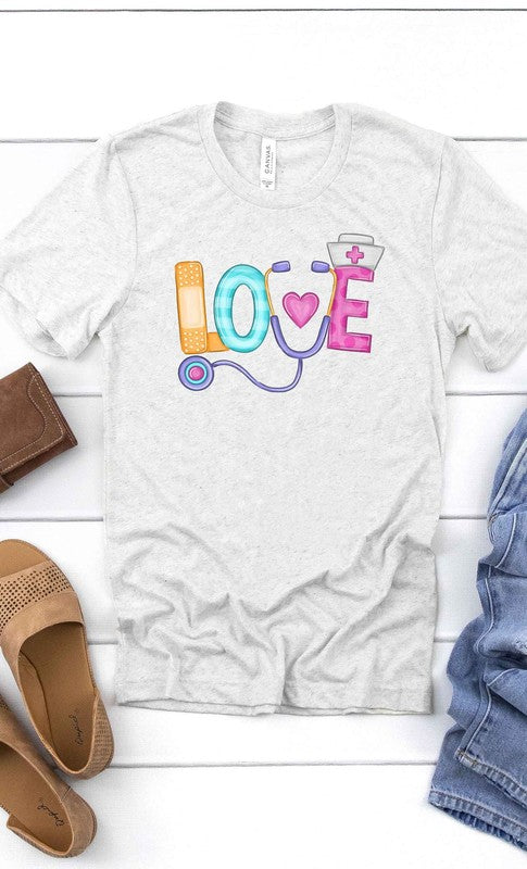 Ash Grey Nurse's LOVE Tee