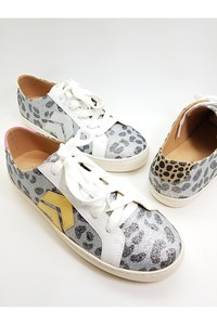 Follow Your Arrow Cheetah Tennis Shoes
