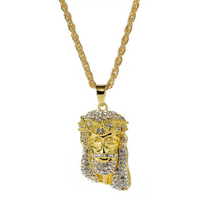 Iced Out Jesus Necklace