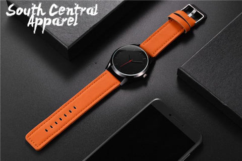 Image of The Date Night Watch - Orange Strap