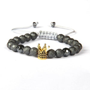 The Imperial Bracelet Remix - Gunmetal Black And Gold