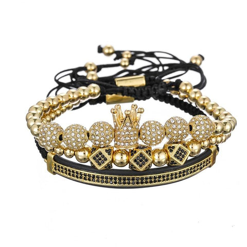 The Imperial Gold Bracelet Set