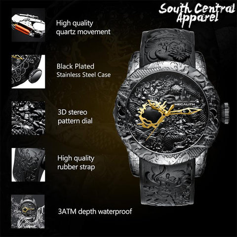 Image of The Megalith Watch - Carbon Black
