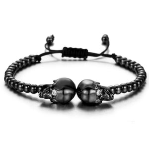 The Twin Outlaws Bracelet Remix - Gun Metal Black