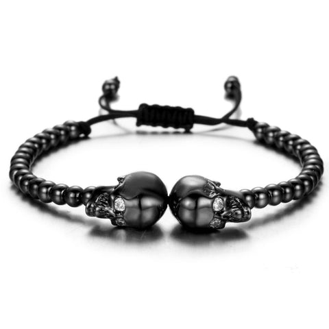 Image of The Twin Outlaws Bracelet Remix - Gun Metal Black