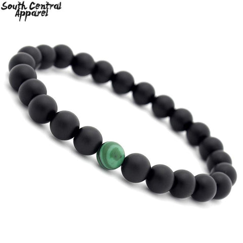 Image of Ying And Yang Bracelets - Jade Swirl