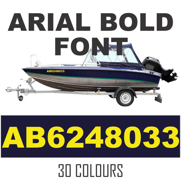 Boat Numbers Canada Boat Decals Registration Numbers Custom