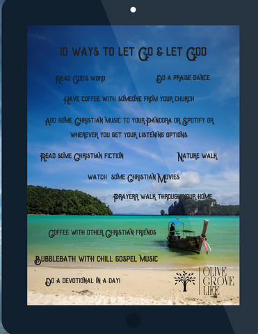 10 ways to let go and let God