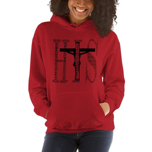I am His sweatshirt names of God in red