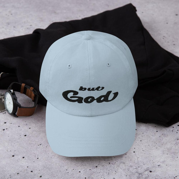 But God  Romans 5:8  Classic Hat