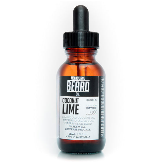 Melbourne Beard Oil -  UPSIZE 50ml
