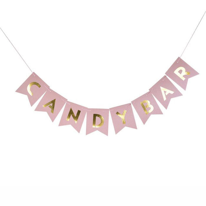 Candy Bar Banner - Party Supplies in Canada