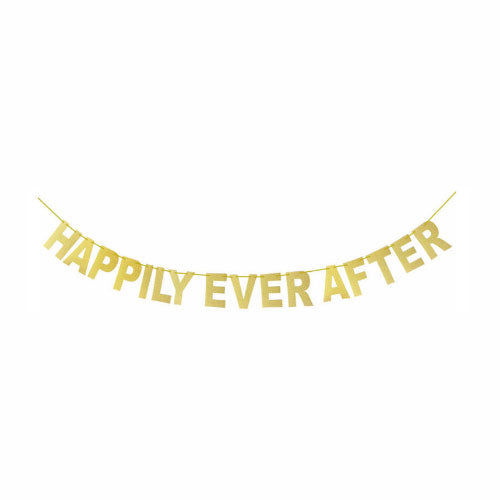 Happily Ever After Banner - Party Supplies in Canada