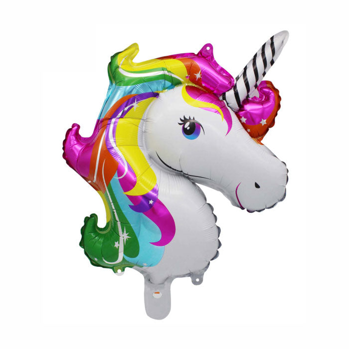 Rainbow Jumbo Unicorn Balloon - Party Supplies in Canada