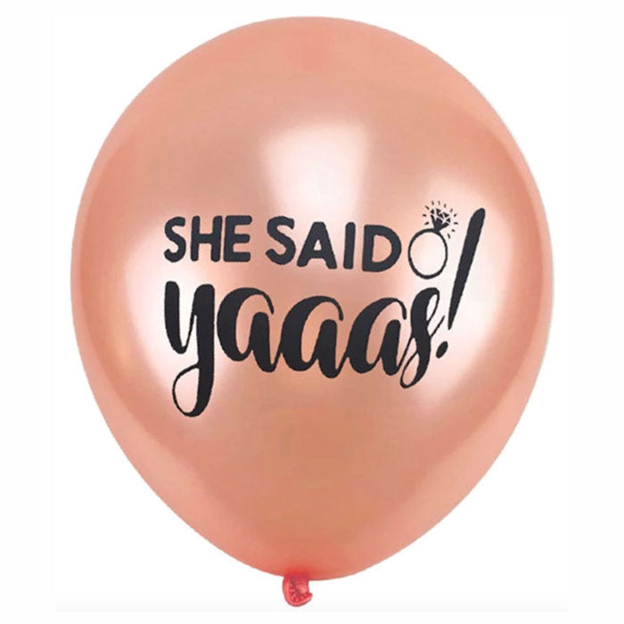 She Said Yaaas Balloons for Bachelorette Parties - Party Supplies in Canada