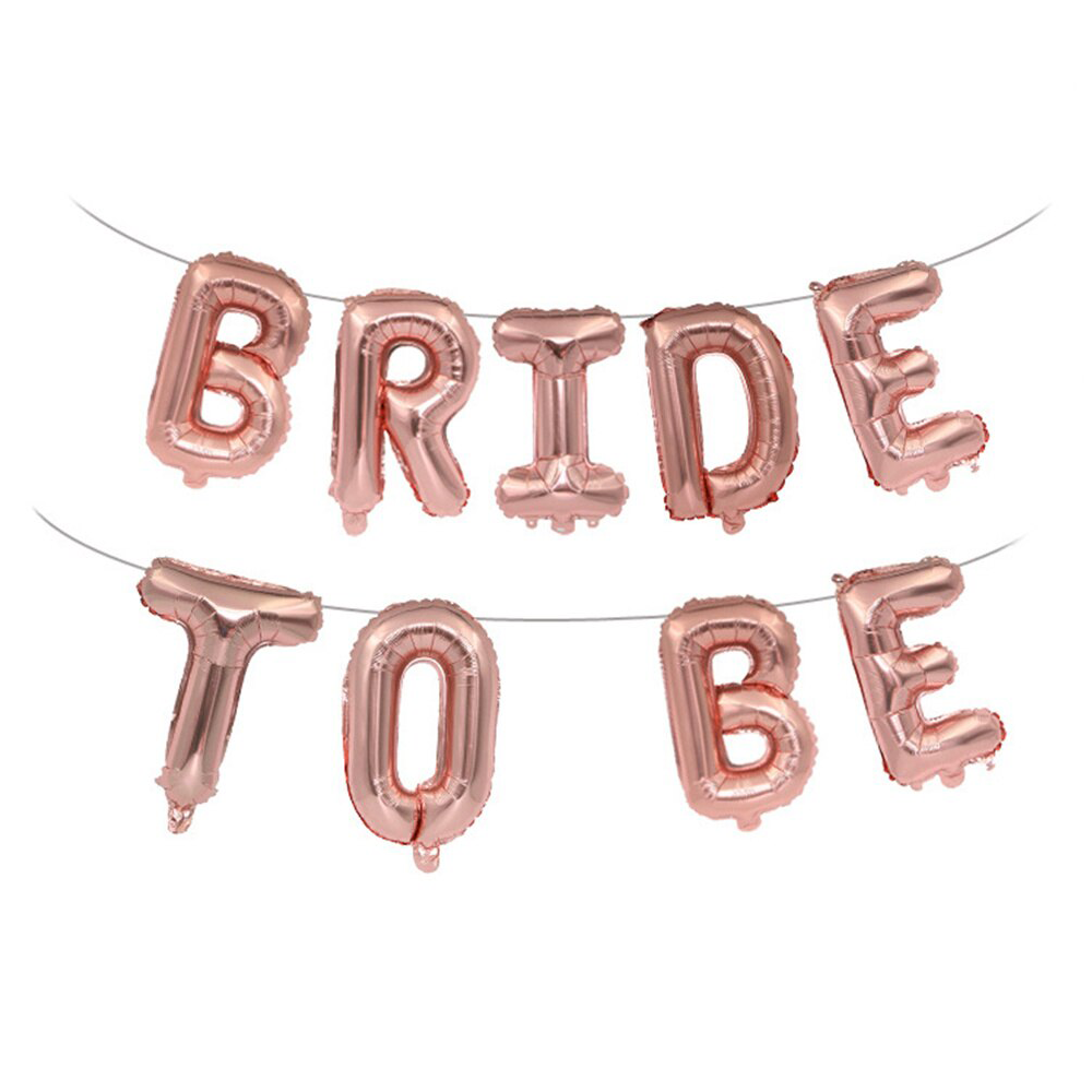 Bride to Be Balloon Banner