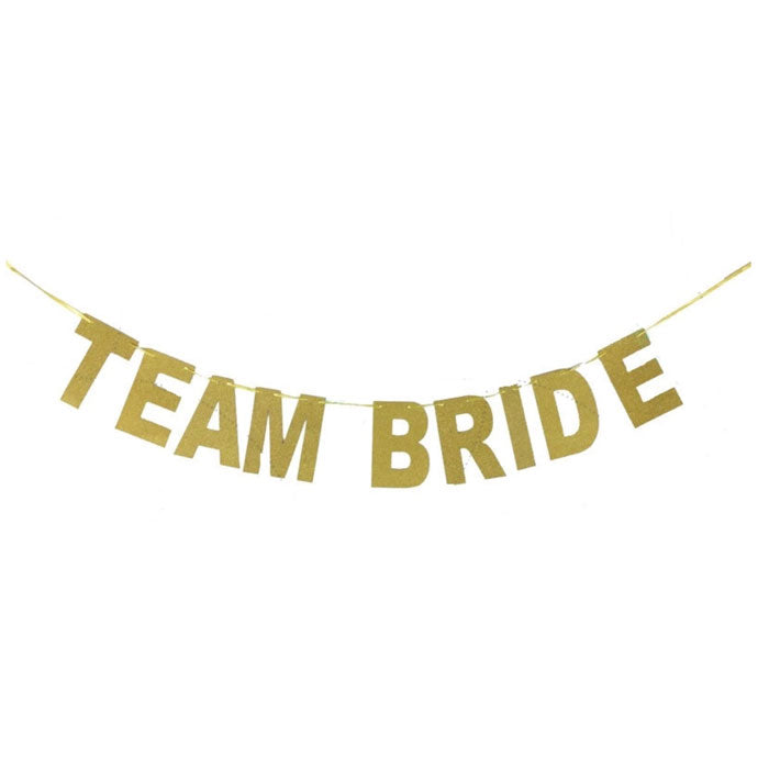 Team Bride Banner for Bachelorette Parties - Party Supplies in Canada