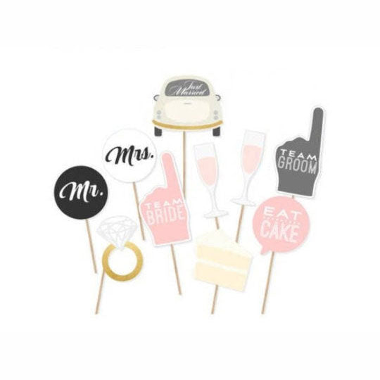 Wedding Photobooth Props - Party Supplies in Canada