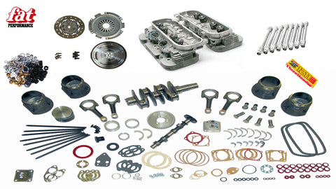 2258cc Type IV Engine Kit - Long Block