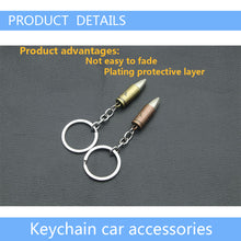 Car Bullet Style Key Rings Metal